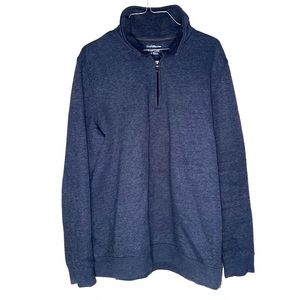 Croft & Barrow long sleeve blue fleece M